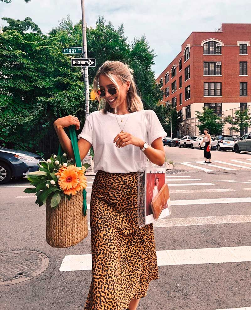 5a9b2c6bba90 21 ideas de outfits para vestir animal print | Tendencias de moda ...