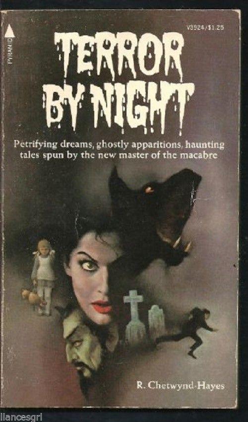 Terror by Night by R. Chetwynd-Hayes-(1976, Paperback) 0515039241-Pyramid Ed.
