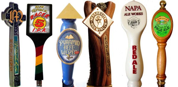 Hip hops beers growing presence in sacramento restaurants custom tap handles help you sell more beer let us design and produce your tap handles sciox Gallery