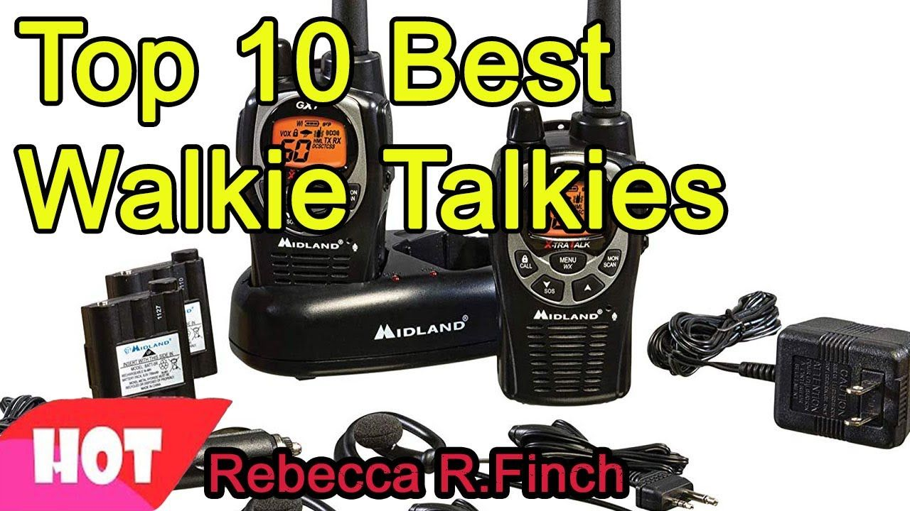 Best Walkie Talkie 2021 Top 10 Best Walkie Talkies 2020 2021 in 2020 | Best amazon