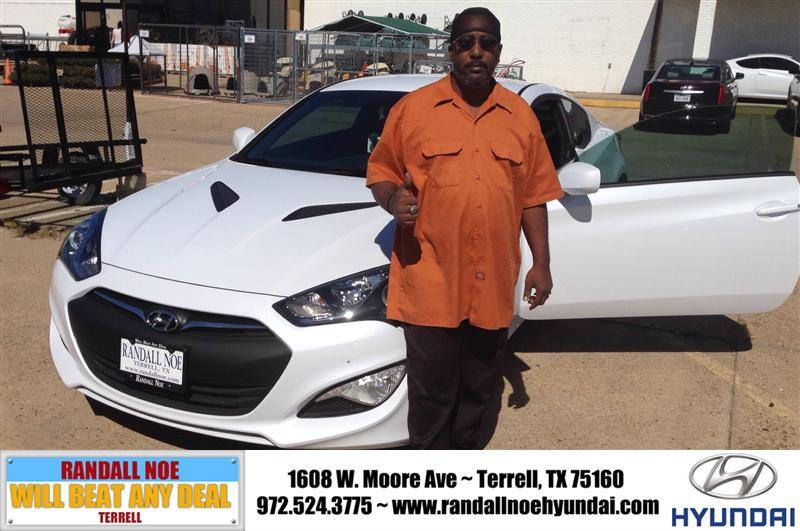 Congratulations To Untuawn Askew On Your Hyundai Genesis Coupe