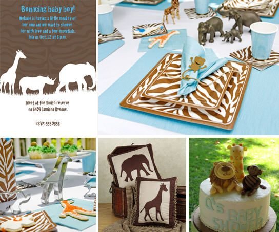 Baby Shower Ideas For Boys | ... birthday themes are also very popular as baby shower ideas one of my