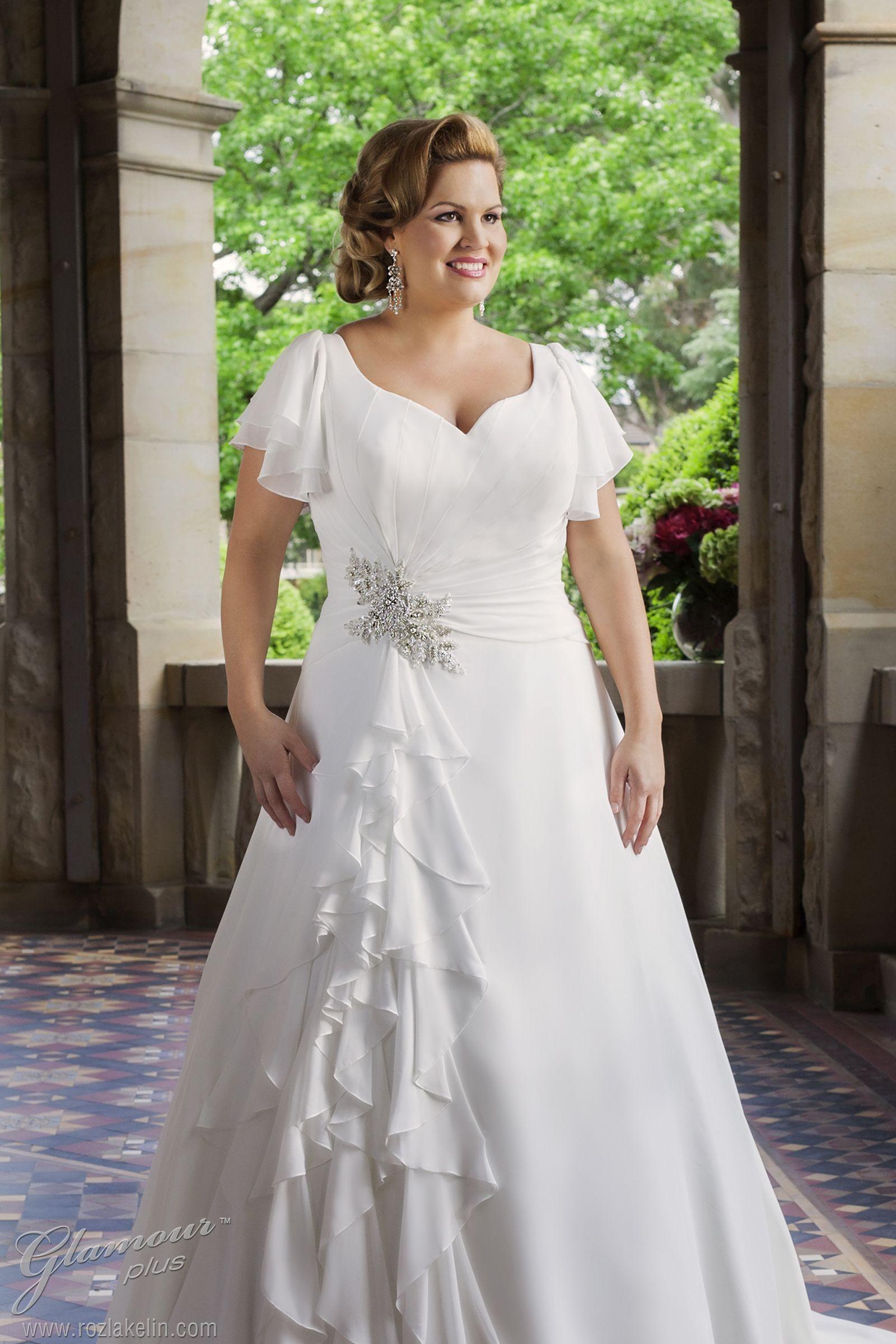 Brand glamour plus bridal style elenora style code t soft