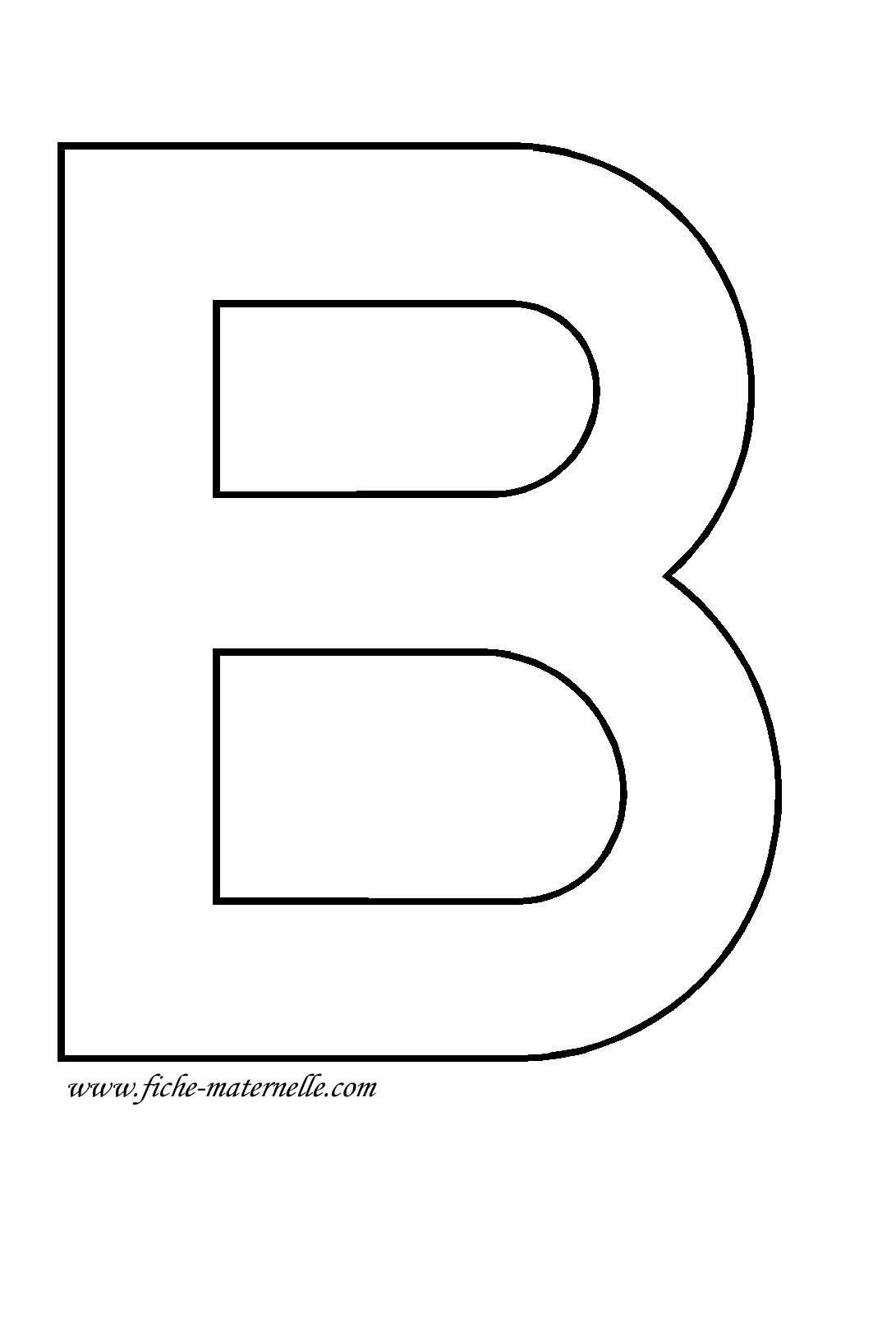 Lettre De L Alphabet A Decorer