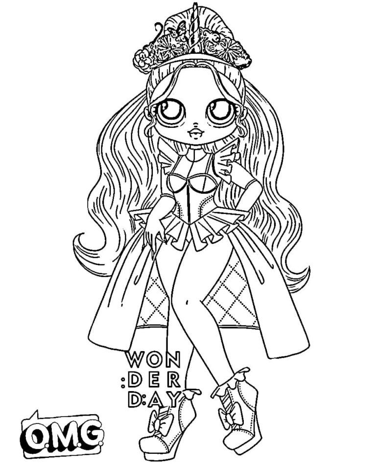 Ausmalbilder Lol Omg Drucken Sie Kostenlos Neue Puppen Cute Coloring Pages Lol Dolls Free Coloring Pages