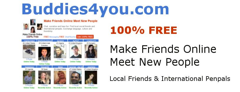 Meet new friends online for free