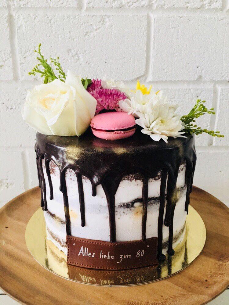Superb No Dairy Chocolate Drip Birthdaycake Personalised Birthday Cards Paralily Jamesorg