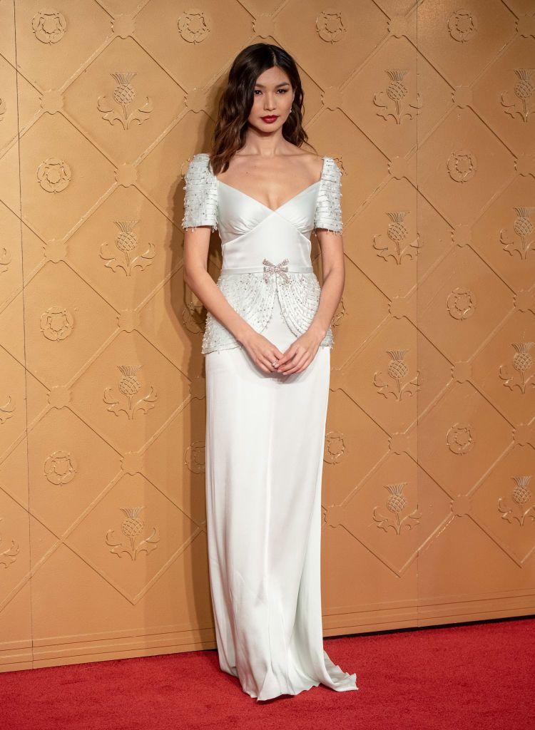 34f8caead7ed Gemma Chan In Miu Miu –  Mary Queen Of Scots  London Premiere ...