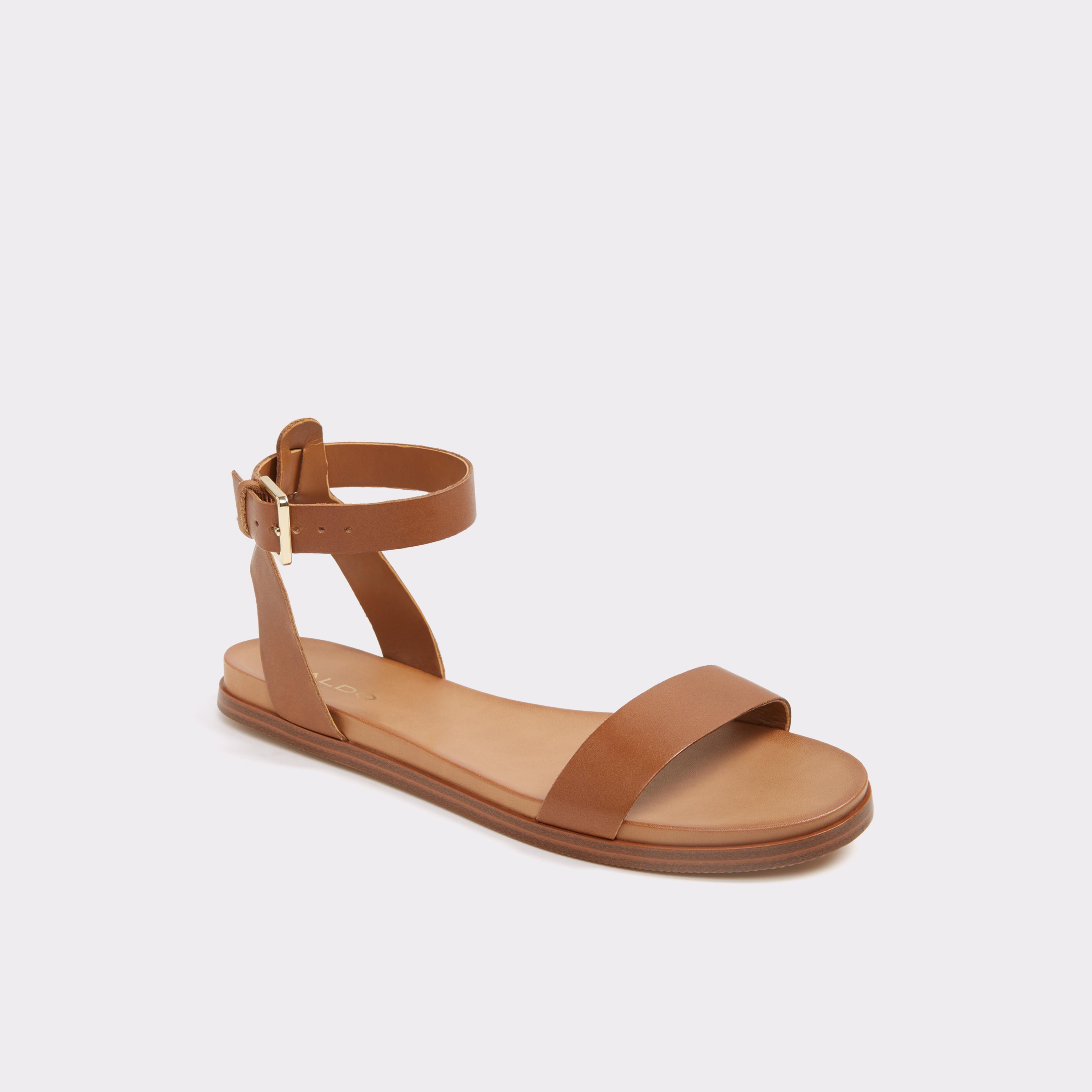 b8c23464ed9 Gwenna Medium Brown Women s Flats