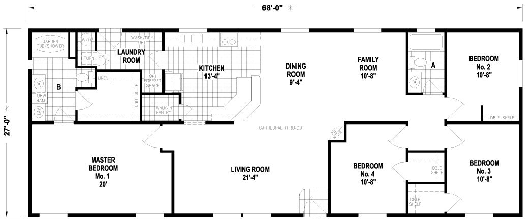 Culver Mobile Home Factory Expo Homes Mobile Home Floor Plans House Floor Plans