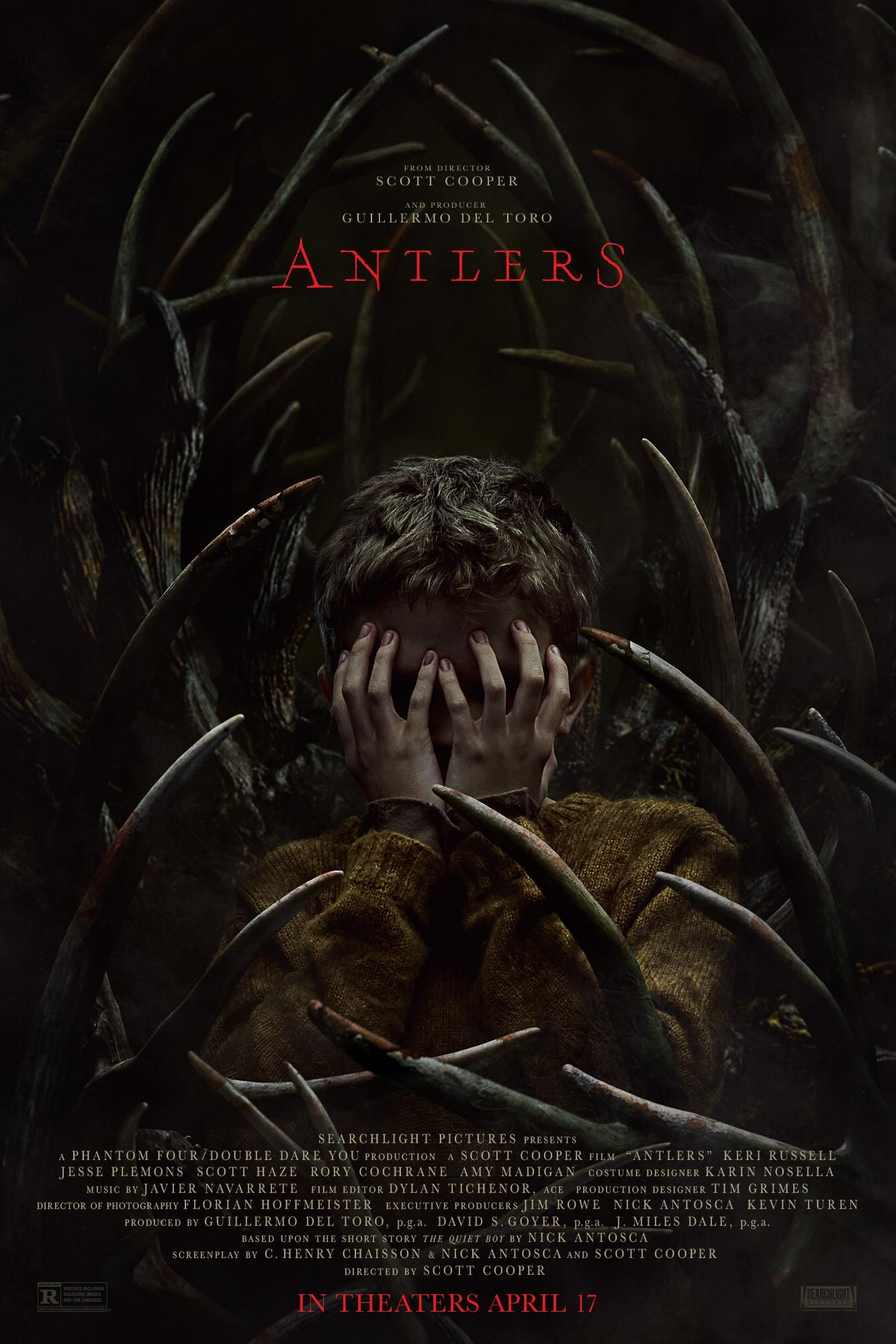 Extremely hyped for Antlers. Amazing poster unlike 2020s