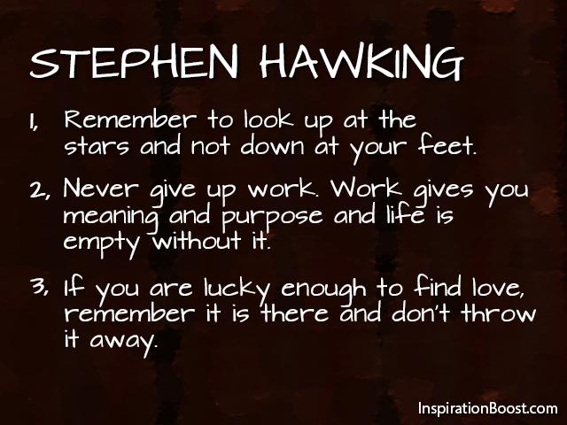 Stephen Hawking On Pinterest