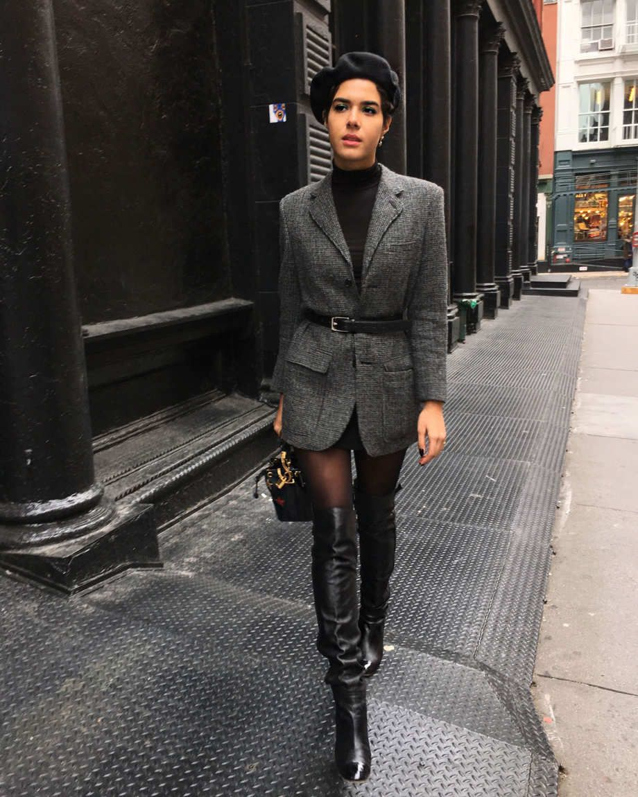 b88344239ef 11 Best Knee High Boots Outfits - Style Tips   Ideas 2018