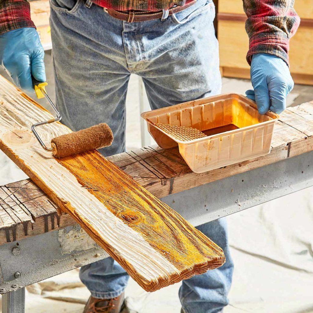 Make Your Own Barn Wood The Family Handyman Barn wood