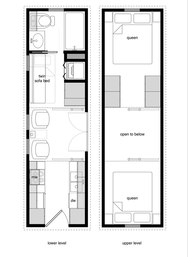 Tiny home floor plans book tiny house design home for Small house design books