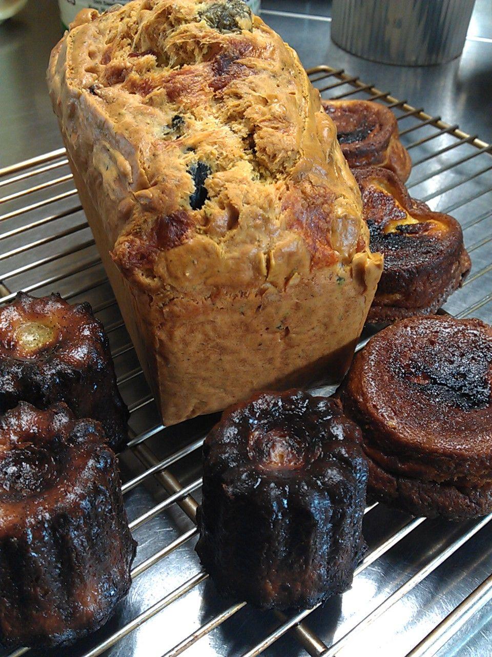 Canelé & Far Breton & Cake salé Cake salé