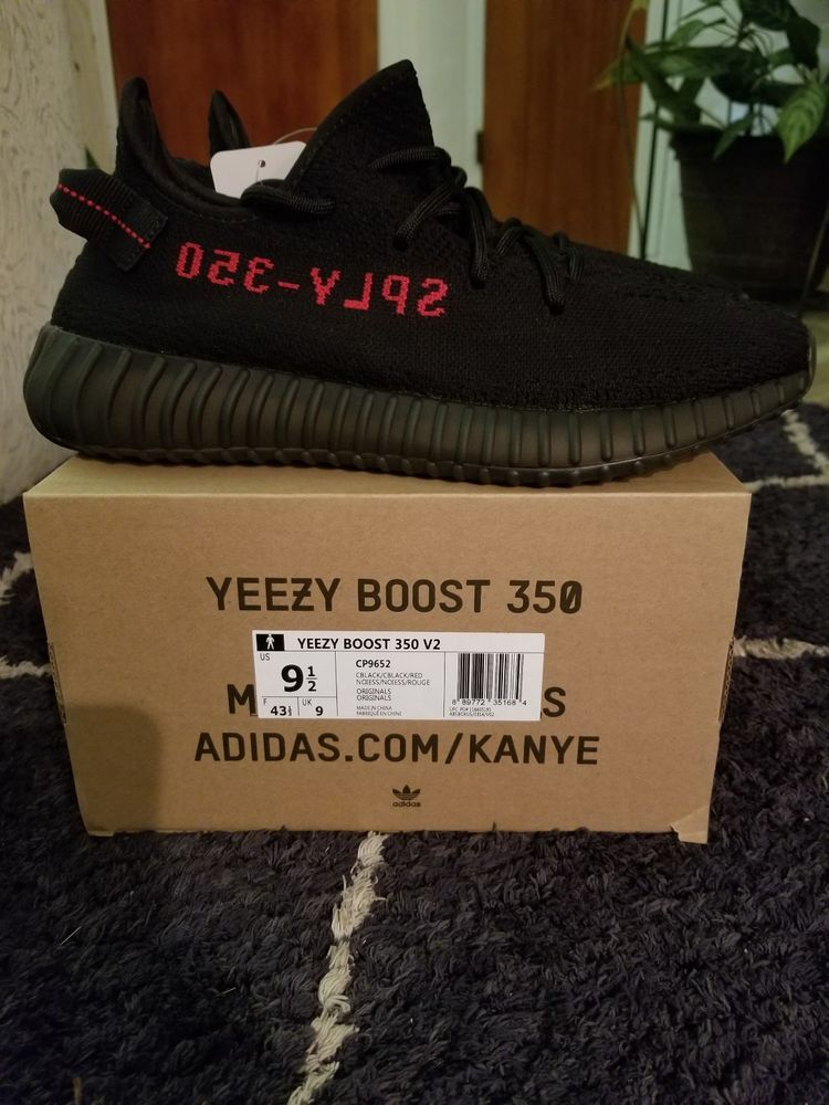 Yeezy 350 Boost V2 Bred size 9.5  fashion  clothing  shoes  accessories   mensshoes  athleticshoes (ebay link) df312728a