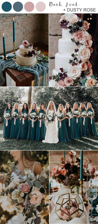 Los mejores colores de boda de otoño para 2020 Te enamorarás de #fallweddingideas d …