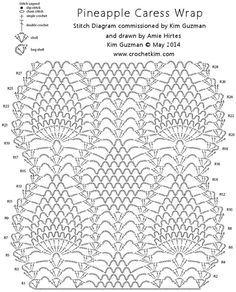 Pineapple caress chart crochetkim free crochet pattern pineapple caress chart crochetkim free crochet pattern follow to text instructions dt1010fo