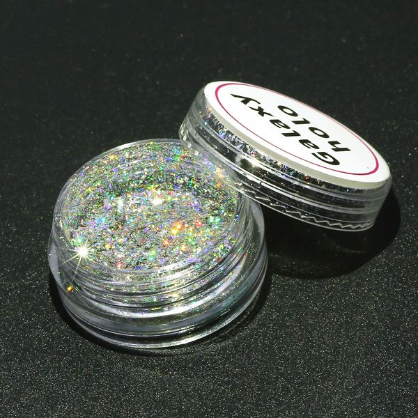 DANCINGNAIL Polvo de uñas de Holográfica gruesa Pigmento de Holo ...