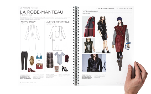 peclers KEY FASHION ITEMS TREND BOOK FALL WINTER 14-15