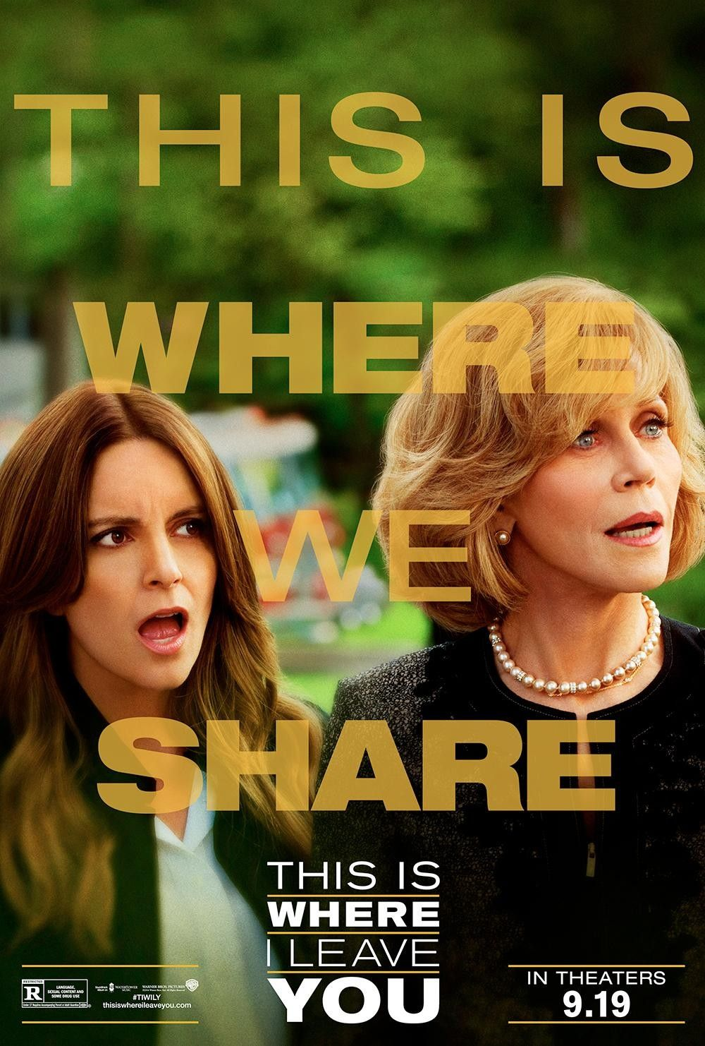 This Is Where I Leave You New Movie Posters Movie Posters Tina Fey