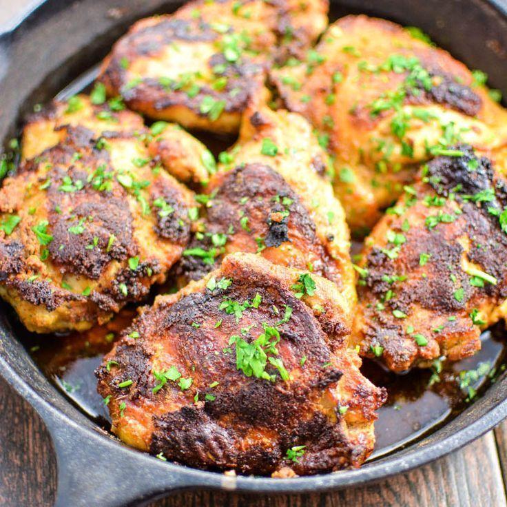 Quick Dinner Ideas With Chicken Thighs: Buttermilk Chipotle Crispy Chicken Thighs