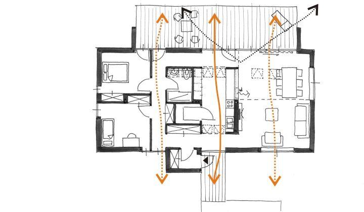 Perfect 100m2 House Matita Architecture