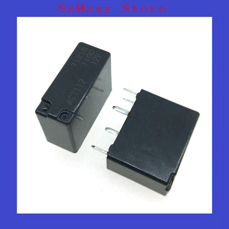 5pcs Auto Relay Spdt Act112 12v Us 9 30 Relay Usb Flash Drive Electronic Products