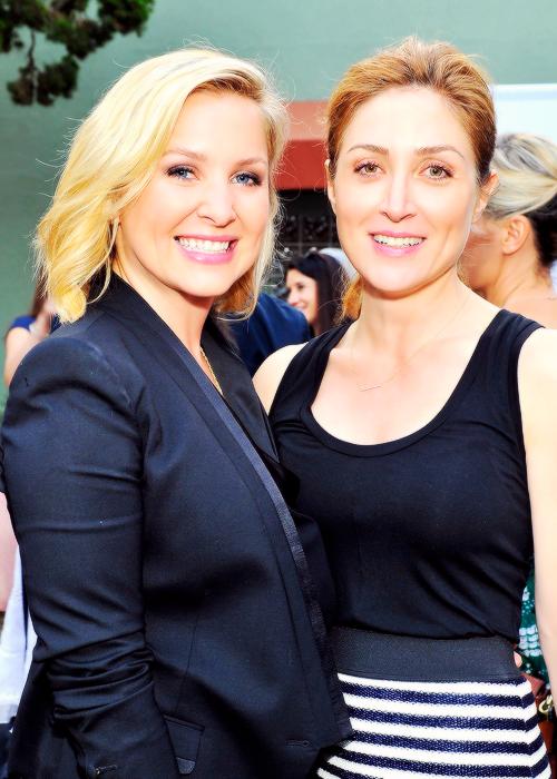 Sasha Alexander And Jessica Capshaw Tumblr Jessica Capshaw Attended