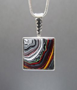 Fordite Jewelry Gallery