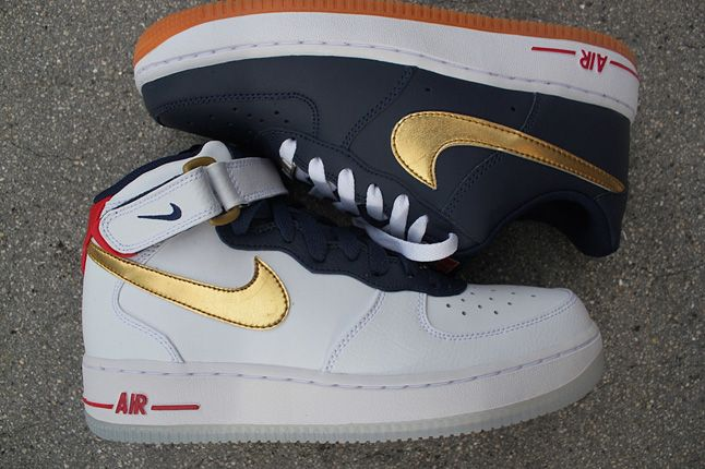 NIKE AIR FORCE 1 GS (OLYMPIC)