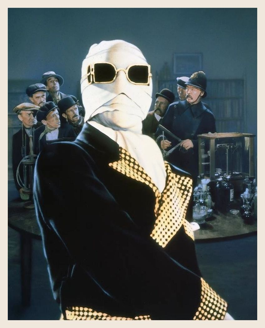 Claude Rains Classic Horror Movies Monsters Classic Horror Movies Invisible Man Costume