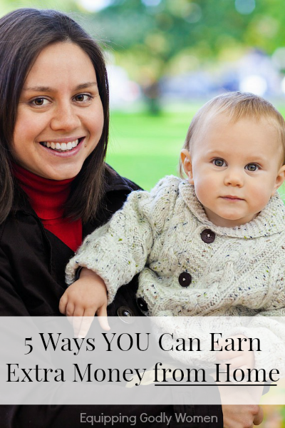 These are great suggestions! Why didn't I think of these ways to make money from home?