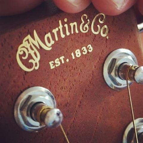 """I love my """"Martin & Co"""" guitar."""