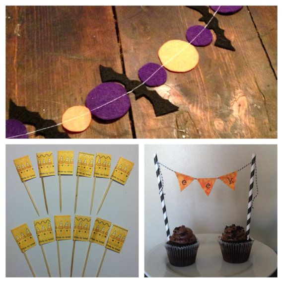 Halloween Party Package by KandKPartyCo on Etsy, $29.00