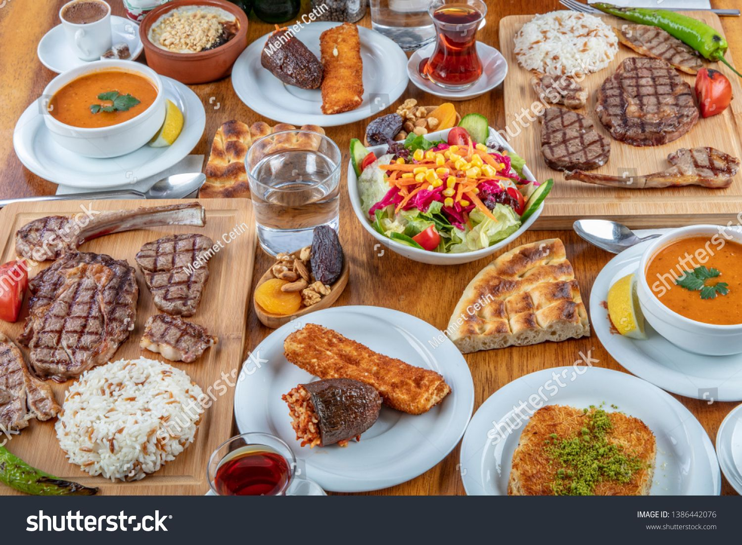Turkish Cuisine It S Also Ramadan Iftar The Meal Eaten By