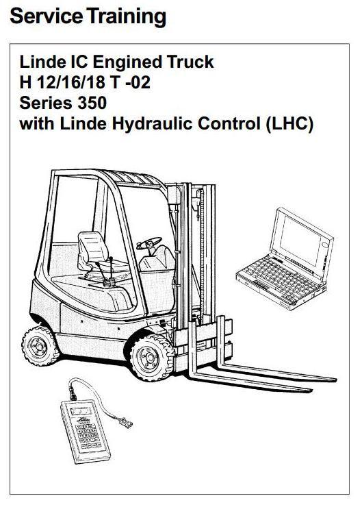 Linde Pallet Stacker Type 372 L14 , L14AP, L16 , L16AP Service - training manual