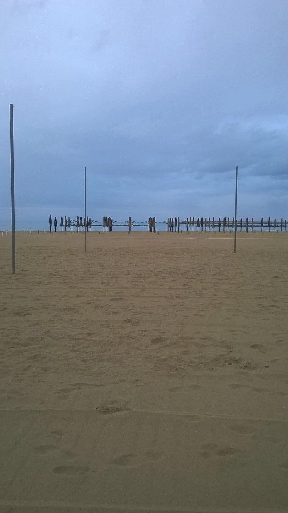 Pescara, Italy: Nicoletta on the beach