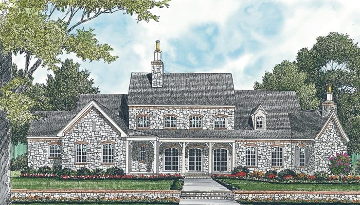 Love The Back Of This House. House Plans | Designer Favorites | Living  Concepts House