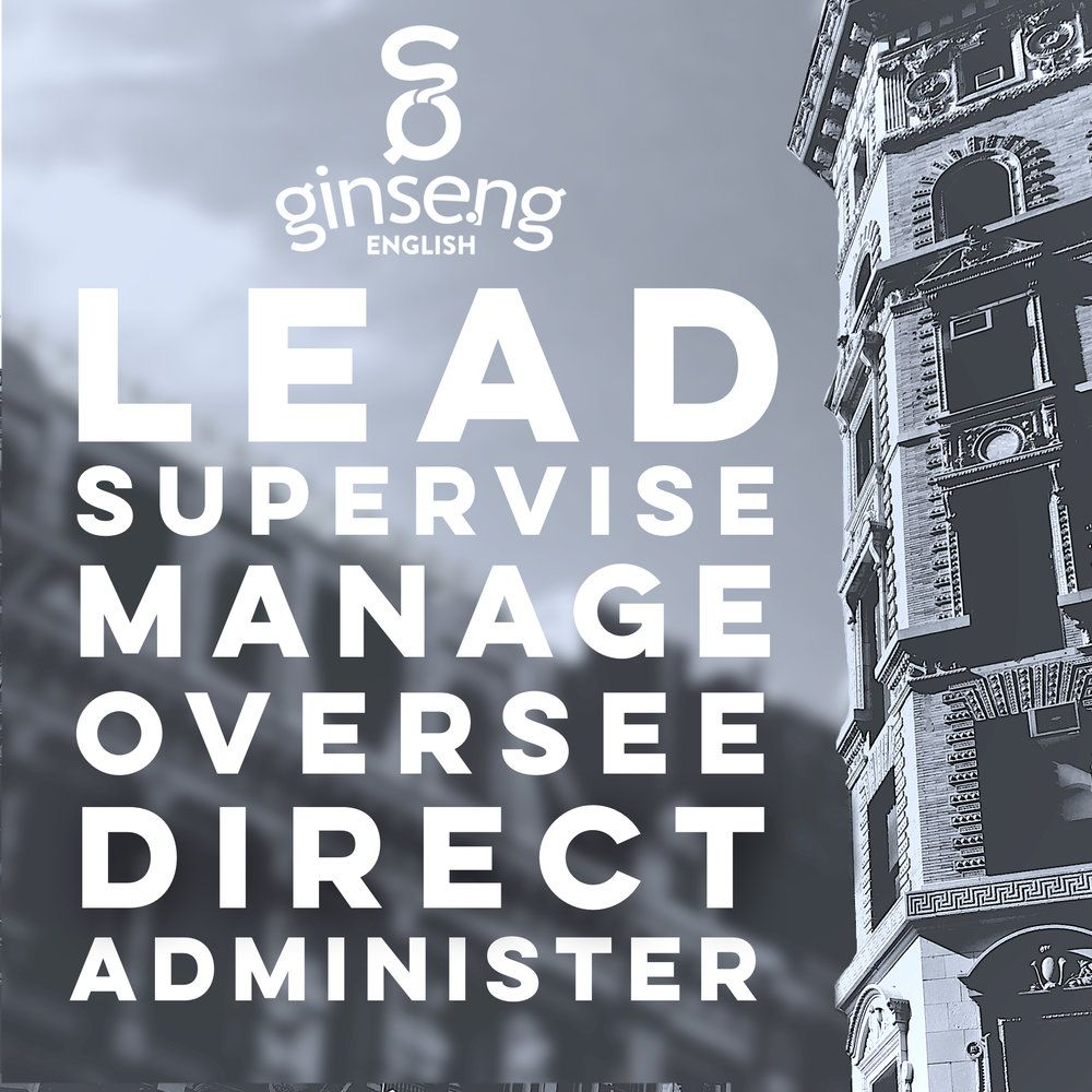 Lead synonyms from Ginseng English Blog. English phrases