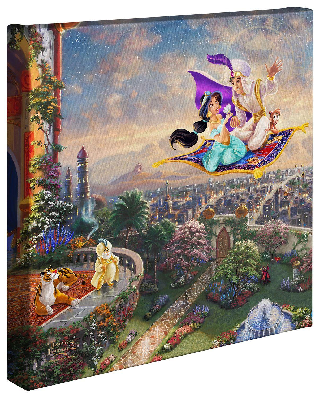 Aladdin u u x ud gallery wrapped canvas wrapped canvas