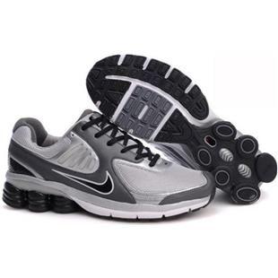 Grey Pink Nike Shox Qualify
