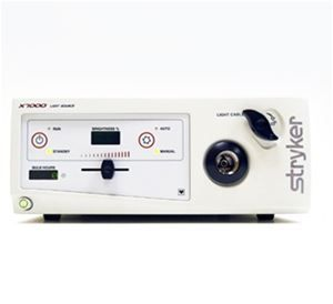 Stryker X7000 300 Watt Xenon Light Source Relative Humidity Watt Fiber Optic