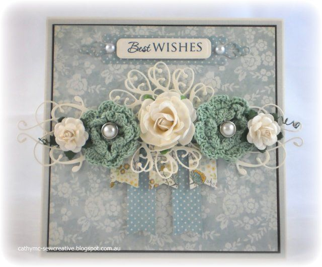 Best Wishes by Cathy Mc - Cards and Paper Crafts at Splitcoaststampers