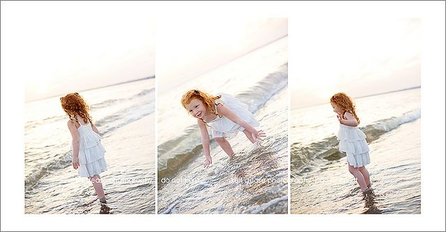 Playing in the waves. Hammonasset Beach July 2012. by Kelli Dease Photography, via Flickr
