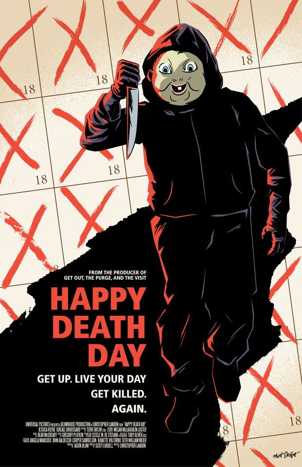 Pin by Valerie Drane on horror stuff and movies | Happy death day, Happy  death day movie, Horror movie posters