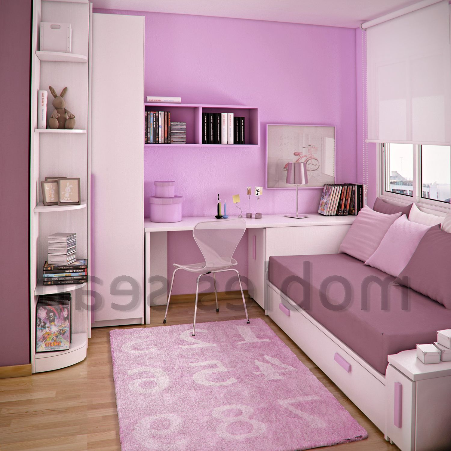 Space Saving Designs For Small Kids Rooms: Stylish Kids Bedroom And Trendy Nursery Ideas