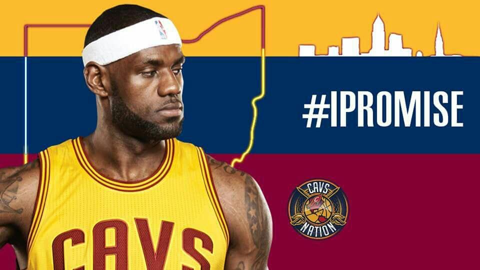 """""""His impact upon this team, his community and the game are impossible to overstate.""""  - David Griffin on LeBron James"""