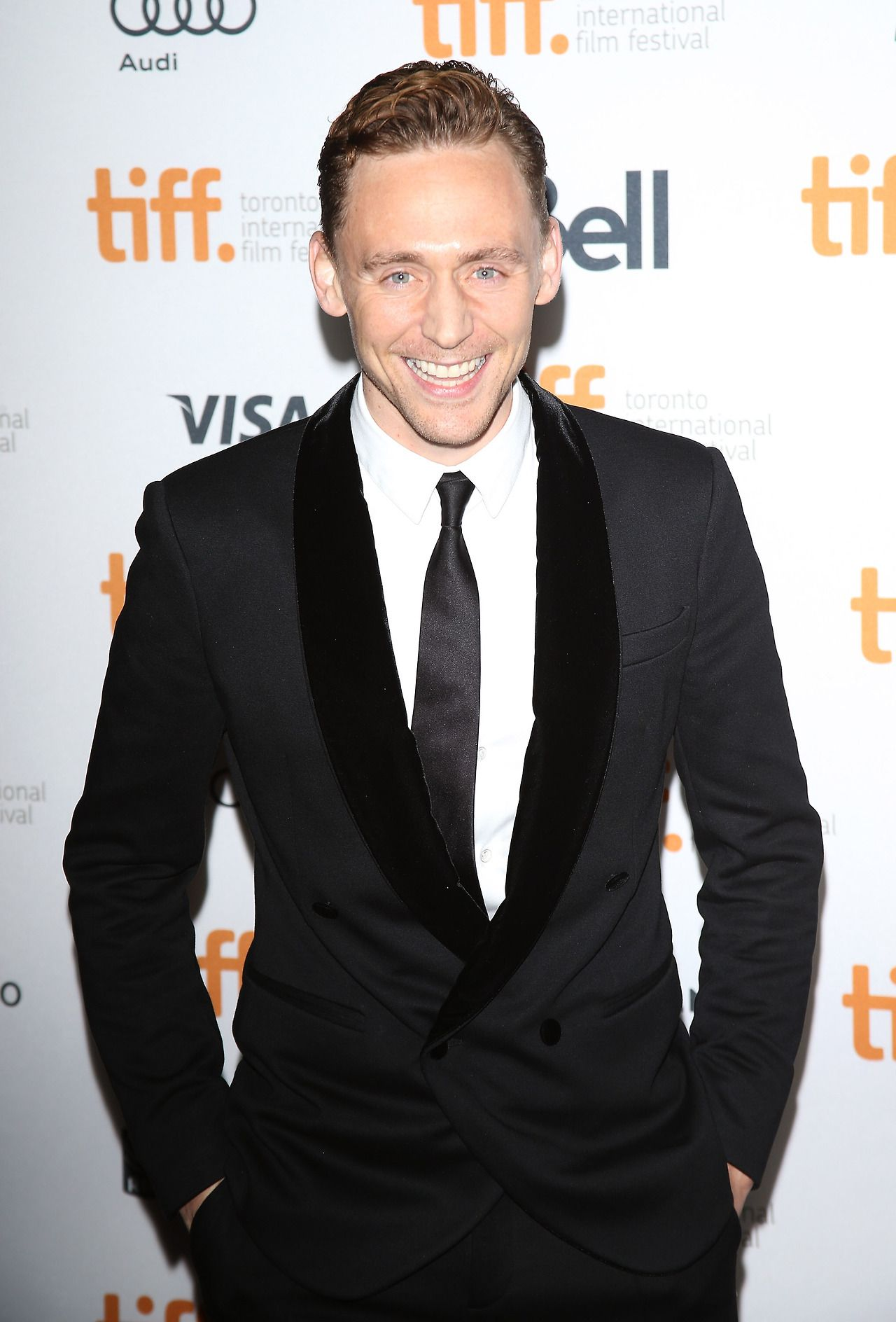 Tom Hiddleston attends the 'Only Lovers Left Alive' Premiere at the Ryerson Theatre during the 2013 Toronto International Film Festival on September 5, 2013 [HQ]